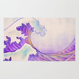 The Great Sunset Wave Rug