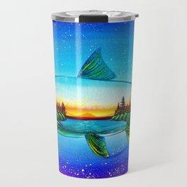 Steelhead sunrise Travel Mug
