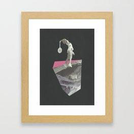 Beyond The Edge III Framed Art Print