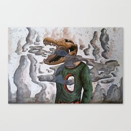 Smokey Canvas Print