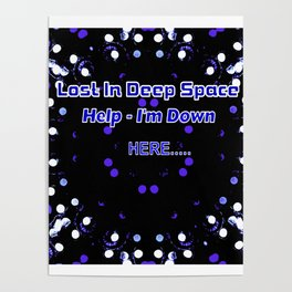 The Black Hole In The Universe Poster