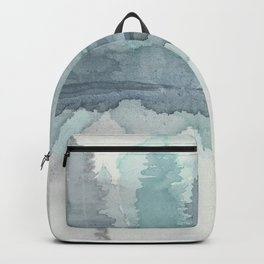 Pines in the Morning Mist Backpack