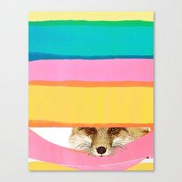 Daydreaming FOX Canvas Print