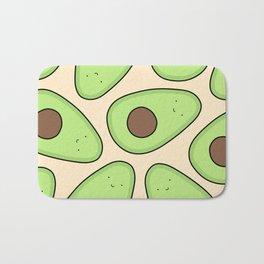 Cute Avocado Pattern Bath Mat