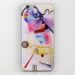 inspiration from Kandinsky . illustration iPhone Skin