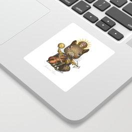 King of Squirrels Sticker
