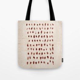 The 100 - Fingerprints Tote Bag