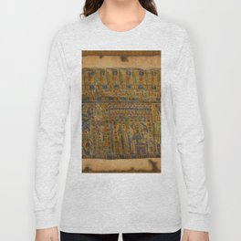 Ancient Egyptian Funerary Scroll pre 944 BC Long Sleeve T-shirt
