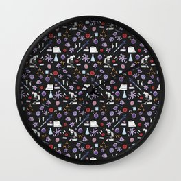 Science ! (Dark) Wall Clock