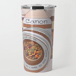 WOOD CAN0N Travel Mug