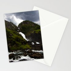 Norwegian Waterfalls Stationery Cards