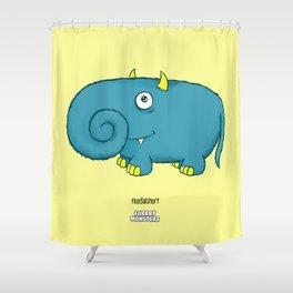 Floogalsnort Shower Curtain