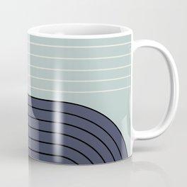 Two Tone Line Curvature XXII  Coffee Mug