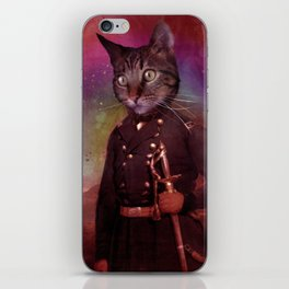 General Jackson (cat) iPhone Skin