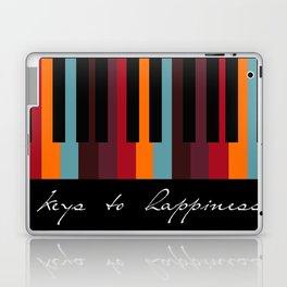 keys to happiness Laptop & iPad Skin