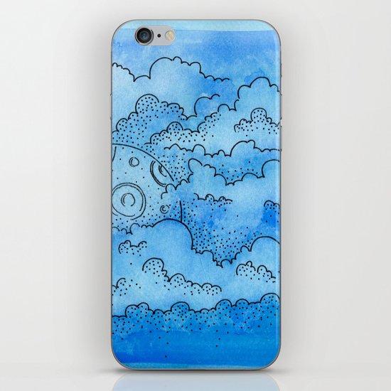Baby Blue Dreamin iPhone & iPod Skin