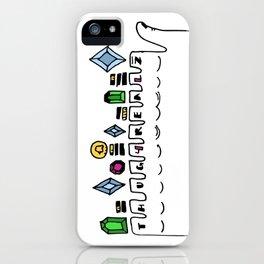 THUG 4 REALZ iPhone Case