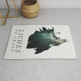 Lich (Typography) Rug