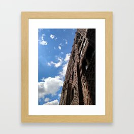 Building the Sky Framed Art Print