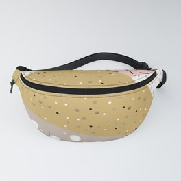 Abstract geometric shapes Fanny Pack