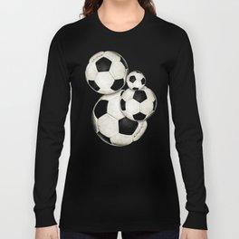 Dirty Balls - footballs Long Sleeve T-shirt