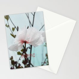 Matilija White Poppies Stationery Cards