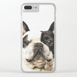 Frenchie Clear iPhone Case