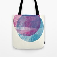 minimalism Tote Bags featuring MINIMALISM by Véronique Leduc