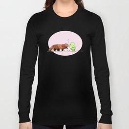 Red Panda Fluff Long Sleeve T-shirt