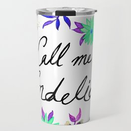 Call Me Cordelia - Turquoise Palette Travel Mug