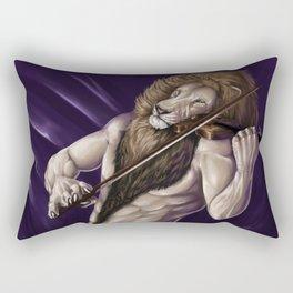 Violinist Rectangular Pillow
