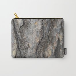 pine tree bark - scale pattern Carry-All Pouch