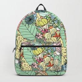 Nature Bloom Pattern Backpack