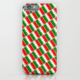 Italia Colors Pattern iPhone Case