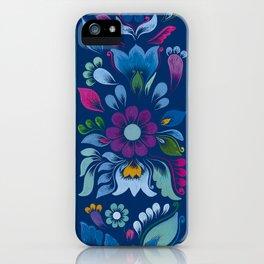 Retablo Azul iPhone Case