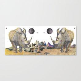 CoR Boss Hog Coffee Cup Canvas Print