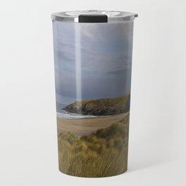 Cornish Seascape Holywell Bay Travel Mug