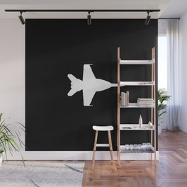 F-18 Hornet Fighter Jet Wall Mural