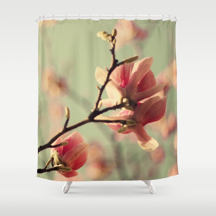 Dogwood flowers Shower Curtain by ingz   Society6
