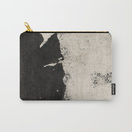 NOIR ABSTRACT / Flaking Carry-All Pouch