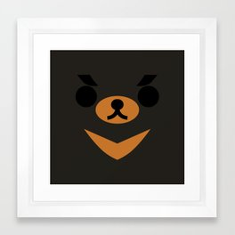 Moon Bear Framed Art Print