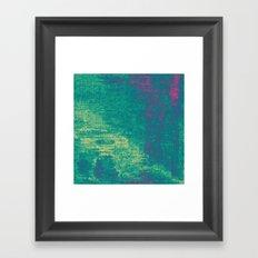 21-74-16 (Aquatic Glitch) Framed Art Print