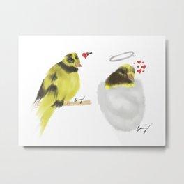 Bumble Bee (Pet Bird) Metal Print