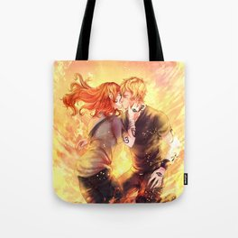 Heavenly Fire Tote Bag