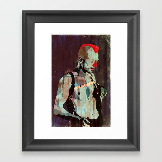 Travis Framed Art Print