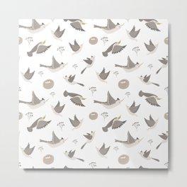 Birds Taking Flight Metal Print