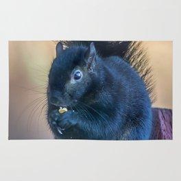 Black Squirrel Rug