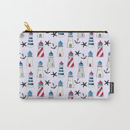 Watercolor Lighthouses Carry-All Pouch