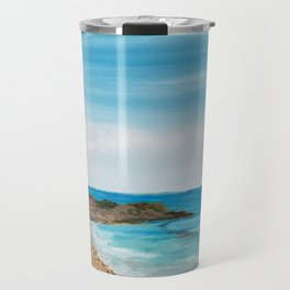 Relaxation by the Beach Travel Mug