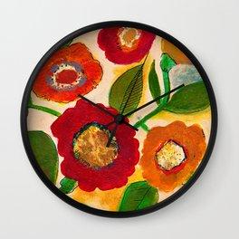park flower3 Wall Clock